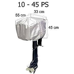Motorabdeckung Persenning für Außenborder 10 - 45 PS 55 x 33 x 45 cm