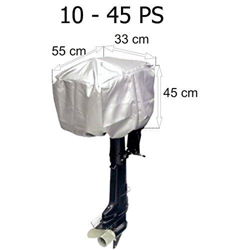 Motorabdeckung Persenning für Außenborder 10 - 45 PS 55 x 33 x 45 cm (Persenning Außenborder)