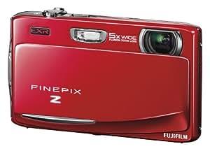 Fujifilm FINEPIX Z950EXR Digitalkamera (16 Megapixel, 5-fach optischer Zoom, 8,9 cm (3,5 Zoll) Display, bildstabilisiert) rot