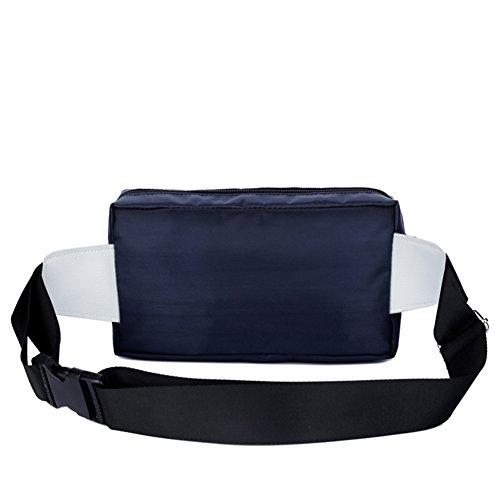 Genda 2Archer Leggero Tasche in Nylon Tasche di Attività Ricreative All'aperto blu marino