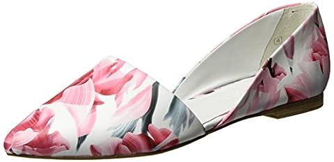 Kennel und Schmenger Schuhmanufaktur Damen Zone Geschlossene Ballerinas, Weiß (white), 40 EU (6.5 UK)