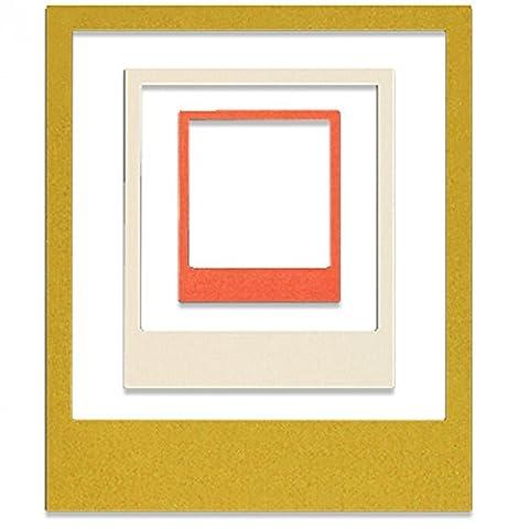 Sizzix 661292 Snap Happy par Sophie Guilar Outil de Scrapbooking Thinlits Die Plastique Multicolore 27 x 13 x 0,1 cm 3 Pièces