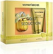 Women Secret Coffre Gold Seduction Eau de Parfum 100 ml And Body Lotion 200 ml Set For Women