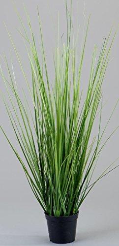 Formano Kunstgras Deko-Gras Kunstblume Grasbusch Dekoblume Künstlich im Topf Kunstpflanzen Gras als Kunststoffblumen, 50 cm