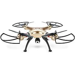 Goolsky Syma X8HW Drone con Cámara 2.0MP HD FPV Wifi Mantenimiento de Altitud y Modo sin Cabeza