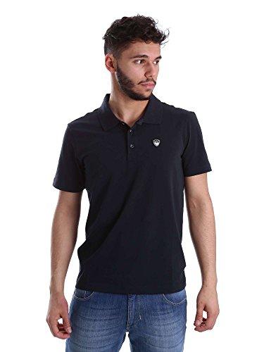 EA7 Emporio Armani Herren Poloshirt Black