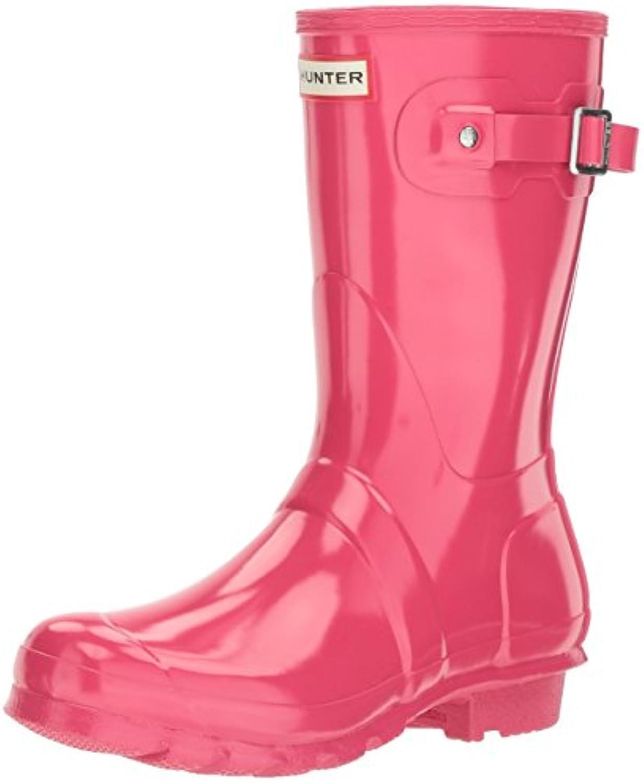 Hunter donna ORIGINAL SHORT GLOSS - Stivali di gomma gomma gomma non imbottiti da donna   Design lussureggiante  b02d40