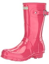 Hunter Wmn Org Short Gloss - Botas de agua Mujer