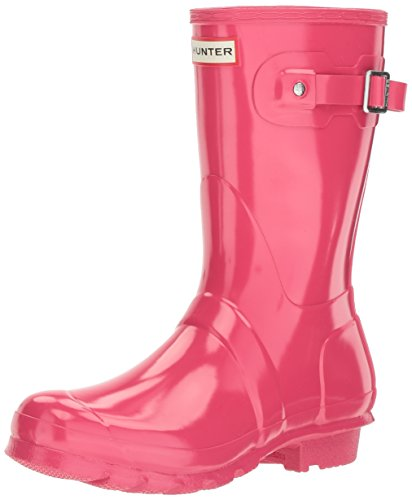 Pink Gummistiefel Hunter Gloss Pink Bright Damen Short ORG Wmn Pqfq7H