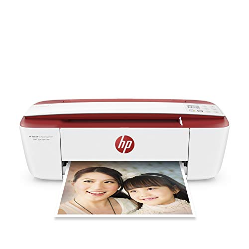 HP T8X27B Deskjet 3764 All-in-One Imprimante Rouge