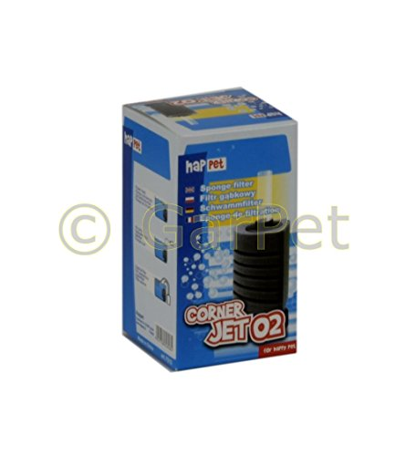 CORNER JET ECK Schwammfilter Innenfilter Biofilter Filter Filterschwamm Standfuß (Corner-Jet 02)