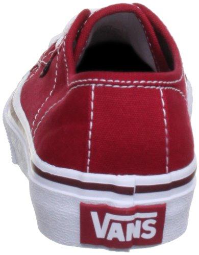 Vans - Y Ferris, Sneakers da bambini e ragazzi Rosso(Red/White)
