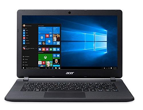 Acer Aspire ES1-331-C8PG Notebook, Processore Intel Celeron N3050 Dual Core, RAM 2 GB, SSD 32 GB, Scheda Grafica Integrata, Nera