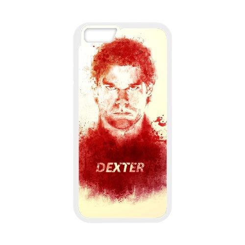 Dexter Blood coque iPhone 6 Plus 5.5 Inch Housse Blanc téléphone portable couverture de cas coque EBDXJKNBO09568