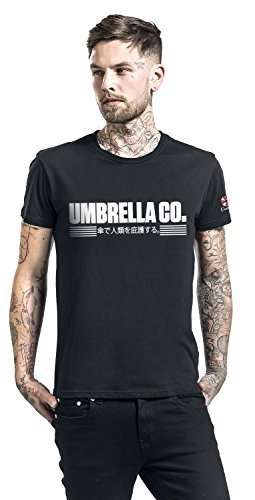 Resident Evil Umbrella Co T-Shirt schwarz Schwarz