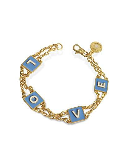 Tory Burch Damen 46683726 Gold Metall Armband (Burch Tory Armbänder)