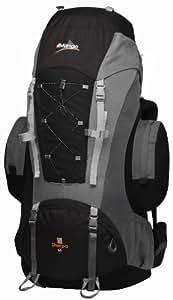 Vango Sherpa RUGSHERPAB05R25 Unisex Backpack 65 Litres Black