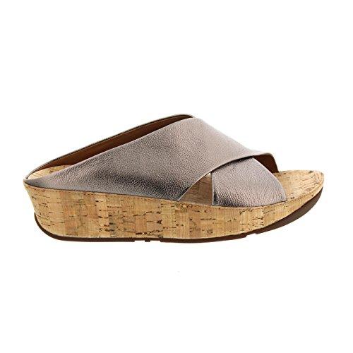 fitflop-kys-slide-damen-sandalen-metallisch