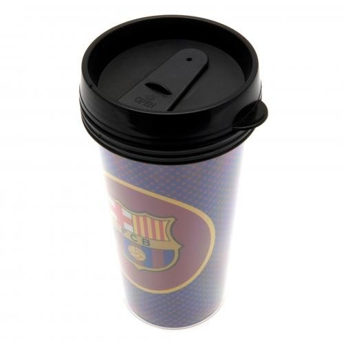 FC Barcelona Reisebecher Travel Mug Thermobecher ca. 0,4 l
