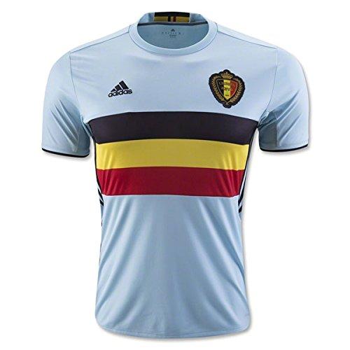 adidas Bélgica UEFA Euro 2016 Réplica Camiseta b5395e646045a