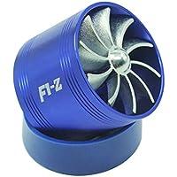 KKmoon Filtre universel du combustible du épargnant du gaz Air Intake simple supercharger Turbine Turbo Ventilateur