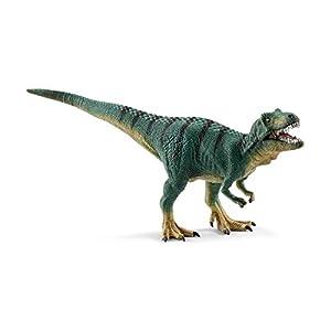 Schleich-15007 Cachorro de Tiranosaurio Rex, Color Verde (15007)