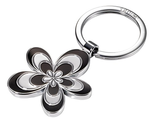 troika-keyring-8-cm-silver-kr15-05-bk