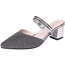 Amazon Chiuse Argento it Donna Pantofole rqrwRSf
