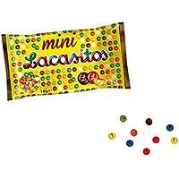 Bolsa de 1Kg de Mini Lacasitos de Colores con Chocolate . Golosinas. Juguetes y Regalos
