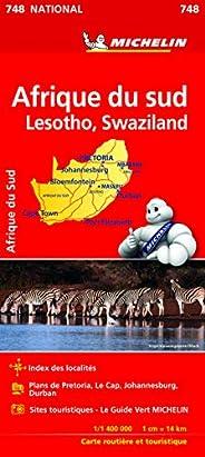 Carte NATIONAL Afrique du Sud Michelin