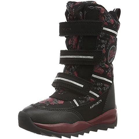 Geox J Orizont B Girl Abx B, Botas de Nieve para Niñas