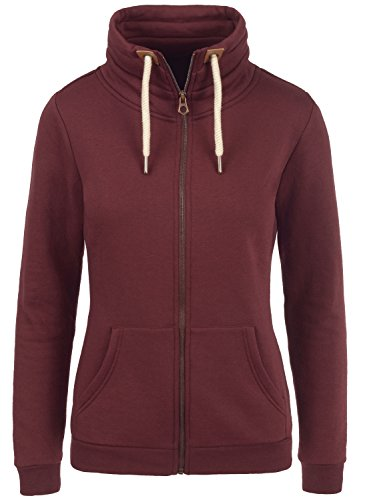 DESIRES VickyZipper - Sweat-Shirt - Femme Wine Red