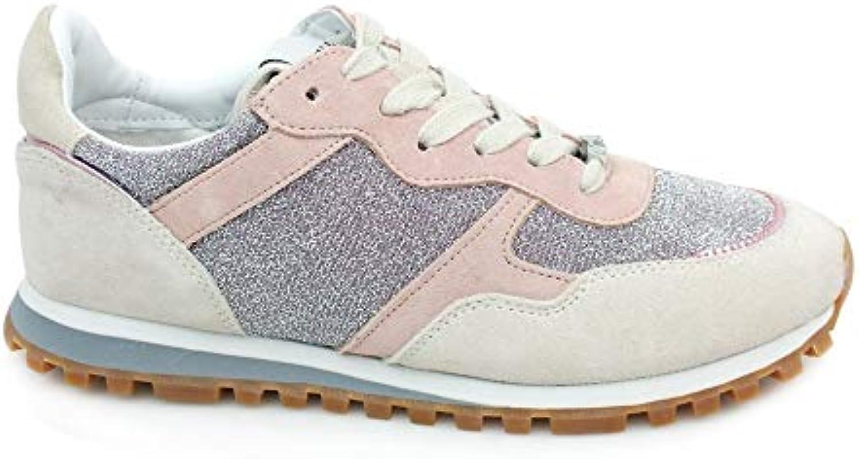 Liu Jo Jeans Alexa-Running bianca bianca bianca rosa, Scarpe da Ginnastica Basse Donna | Regalo ideale per tutte le occasioni  98ade6