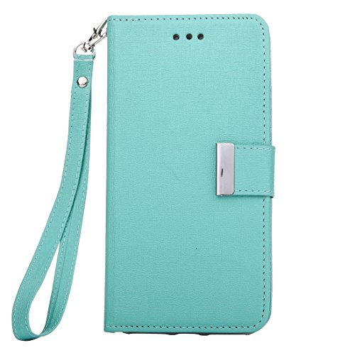Hülle für iPhone 7 plus , Schutzhülle Für iPhone 7 Plus Oracle Texture Separable Horizontale Flip Ledertasche mit Card Slots & Wallet & Photo Frame & Lanyard ,hülle für iPhone 7 plus , case for iphone Green