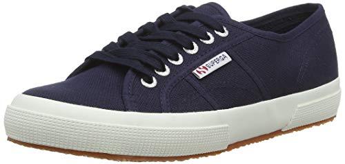 Superga 2750 Cotu Classic, Unisex-Erwachsene Sneaker, Blau (Navy-White F43), 40 EU (6.5 UK) -