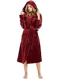 e0f229b693 MIRRAY Dressing Gown Womens Winter Thicken Sleepwear Plush Shawl Bathrobe  Ladies Loungewear Plus Size Nightwear Woman