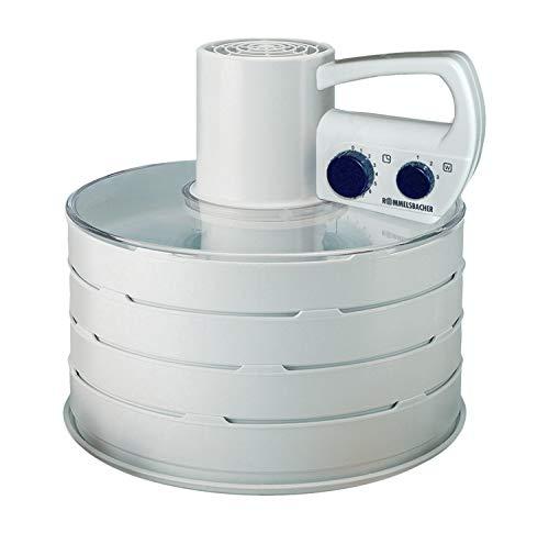 ROMMELSBACHER DA 750 Dörrapparat (Dörrautomat mit innovativer Technologie für Fleisch, Obst, Gemüse, Pilze & mehr, Gesamtdörrfläche über 3000 cm², erweiterbar) weiß