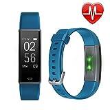 Schrittzähler Uhr, Letsfit Fitness Tracker mit Pulsmesser Schlaf-Monitor Wasserdicht in versch. Farben