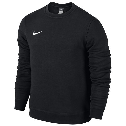 Nike Herren Sweatshirt Team Club Crew, Schwarz(black/football white), L