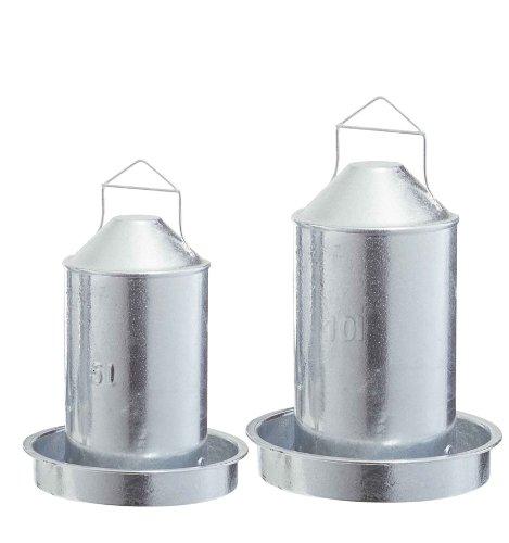 Hühnertränke Metall - 5 Liter