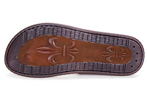 Flop M盲nner Cool M盲nner SHIXR Drachen Ultra brown Sandalen red Trendy Sandalen Flip Pantoffeln 2017 Outdoor Sommer Slippers EfCdqC