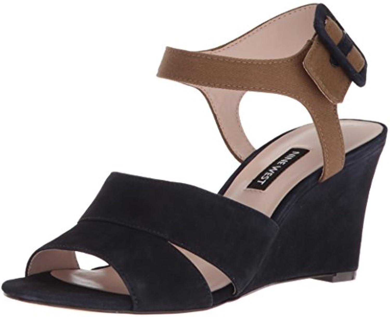 Nine West Womens Vahan Suede Wedge Sandal B074xh6mlz Inside Sandals Jaylinn Navy Parent 0b2f869