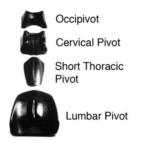 pivotal-therapy-system-4-piece-set-1-of-each-occipivot-cervical-pivot-short-thoracic-standard-lumbar