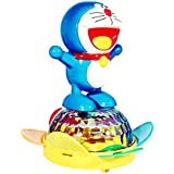 Dancing Doreamon With 3D Light With Bump And Go Action, Music | Blue Small Battery Operated Doreamon Toy For Kids