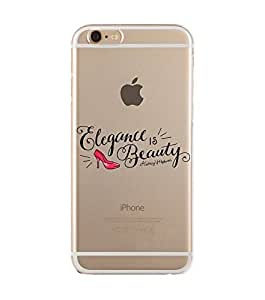 iPhone 6 Soft Protective Case with Soft TPU Scratch Resistant iPhone 6 Back Cover Case -2M-UV-SOFT-PD666
