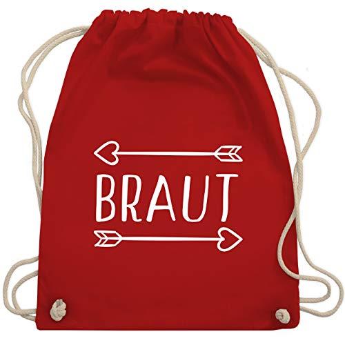 Super Schnelle Und Kostüm Einfache - JGA Junggesellinnenabschied - Braut Pfeile - Unisize - Rot - WM110 - Turnbeutel & Gym Bag