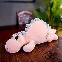 LOVEYUNHJG Plush Toys Cute Lying Dinosaurs Sleep On Pillows Holding Pillows Child Girl Gifts 50Cm A