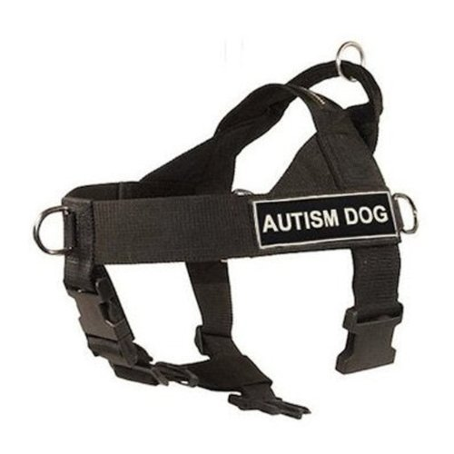 DT-Universal-No-Pull-Dog-Harness-Autism-Dog-Black-X-Small-Fits-Girth-Size-53cm-to-635cm