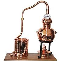 """Dr. Richter Destillieranlage """"Alambic Classico mit Thermometer"""" (0,5 Liter). Destille für Wasserdestillation / Pflanzenwasser"""