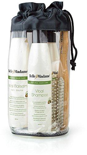 Bella Shampoo (Dening Hair Belle Madame komplett Pflegeset inkl. Bürste)